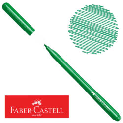 Marcador Delgado Fiesta 45 Faber-Castell Verde