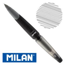 Portaminas eraser&pencil MILAN CAPSULE Slim 0.5 Negro