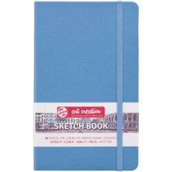 Sketchbook Talens Art Creation con 80 Hojas de 140 g (13 x 21 cm) Azul Lago
