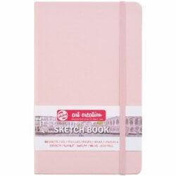 Sketchbook Talens Art Creation con 80 Hojas de 140 g (13 x 21 cm) Rosa Pastel