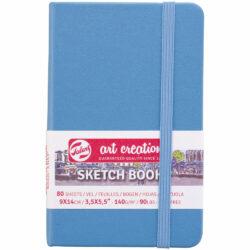 Sketchbook Talens Art Creation con 80 Hojas de 140 g (9 x 14 cm) Azul Lago