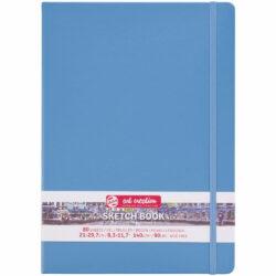 Sketchbook Talens Art Creation con 80 Hojas de 140 g Tamaño Carta Azul Lago