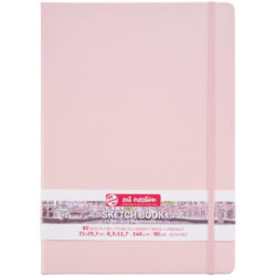 Sketchbook Talens Art Creation con 80 Hojas de 140 g Tamaño Carta Rosa Pastel