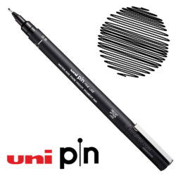 Estilógrafo de Dibujo uni PIN Fine Line Negro 0.9