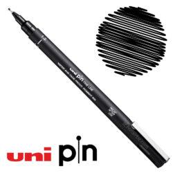 Estilógrafo de Dibujo uni PIN Fine Line Negro 1.2
