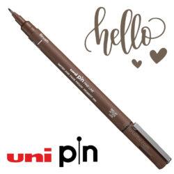 Estilógrafo de Dibujo uni PIN Fine Line Sepia Brush Pincel