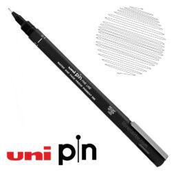Estilógrafo de Dibujo uni Pin Fine Line Negro 0.1