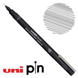 Estilógrafo de Dibujo uni Pin Fine Line Negro 0.3