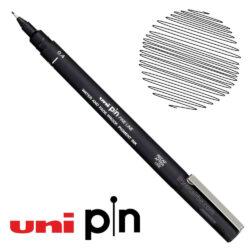 Estilógrafo de Dibujo uni Pin Fine Line Negro 0.4
