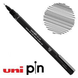 Estilógrafo de Dibujo uni Pin Fine Line Negro 0.5