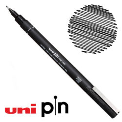 Estilógrafo de Dibujo uni Pin Fine Line Negro 0.8