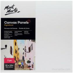 Panel de Lienzo Mont Marte (30.5 x 30.5 cm)