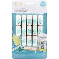 Perforadoras de Números y Símbolos para Word Punch Board We R Memory Keepers