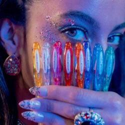 Bolígrafos Gel uni-ball Signo Sparkling Glitter Vista