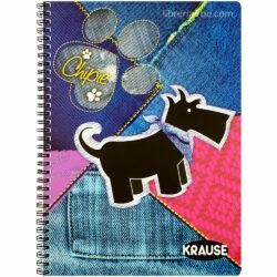 Cuaderno Anillado Carta KRAUSE con 100 Hojas Cuadriculadas 5 mm (Portada Aleatoria)