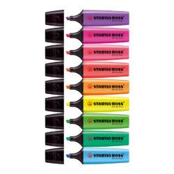Resaltadores STABILO BOSS por Unidad (9 Colores)