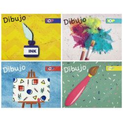 Cuaderno de Dibujo Escolar Engrapado Nº 12 TOP