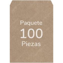 Paquete 100 Sobres Kraft - Manila (30 X 40 cm)