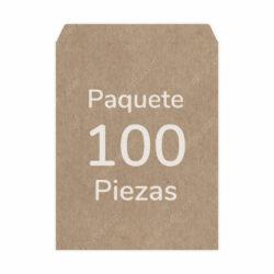 Paquete 100 Sobres Kraft - Manila Carta (23 X 29.5 cm)