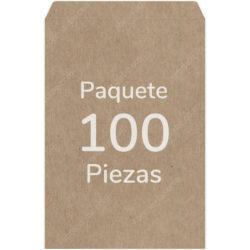Paquete 100 Sobres Kraft - Manila Oficio (24.9 X 35.8 cm)