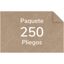 Paquete 250 Pliegos Papel Kraft 80 g (81.5 X 125 cm)