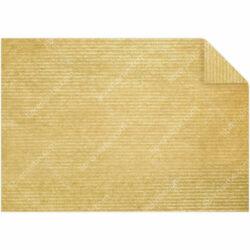 Pliego Papel Madera - Kraft Listado Oro 45 g 70 x 100 cm