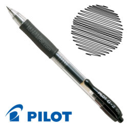 Bolígrafo Gel Retráctil 0.5 PILOT G-2 Negro