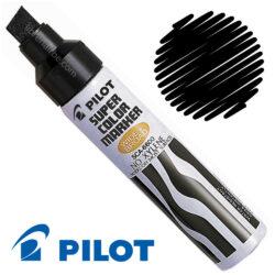 Marcador Permanente Jumbo PILOT SUPER COLOR Negro