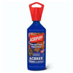 Pintura de Expansión a Calor 35 ml ACRIPUFF ACRILEX Azul Turquesa 501