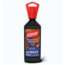 Pintura de Expansión a Calor 35 ml ACRIPUFF ACRILEX Negro 520