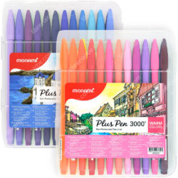 Set 48 Rotuladores Monami Plus Pen 3000