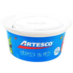 Bote Porcelana Fría - Cerámica en Frio Artesco 250 g Blanco