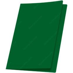 Fólder de Color Tamaño Oficio American Iris - Verde