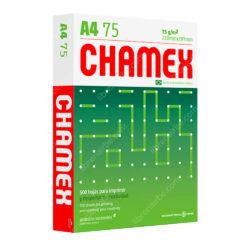 Paquete 500 Hojas de Papel Bond Blanco 75 g CHAMEX Tamaño A4
