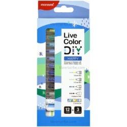 Set 15 Piezas Monami Live Color DIY - Happy