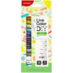 Set 15 Piezas Monami Live Color DIY - Play