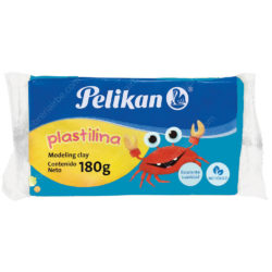 Barra de Plastilina Pelikan 180 g - Azul Claro