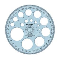 Regla para Círculos 360º Artesco