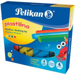 Set 4 Barras de Plastilina Pelikan