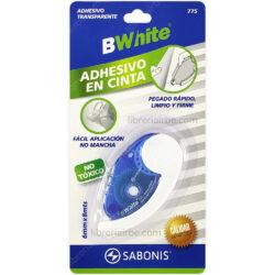 Adhesivo en Cinta Transparente 775 SABONIS BWhite