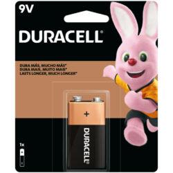 Batería Alcalina Duracell 9V