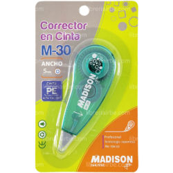 Cinta Correctora M-30 MADISON (Color Aleatorio)