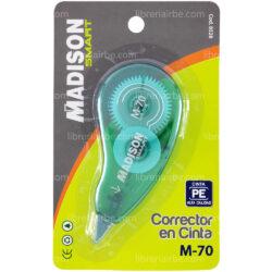 Cinta Correctora M-70 MADISON (Color Aleatorio)