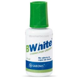 Corrector Líquido 20 ml SABONIS BWhite