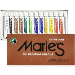 Set 12 Tubos de Pintura al Óleo Maries Nuevo