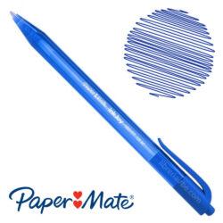 Bolígrafo Retráctil Paper Mate 100 RT 1.0 M Azul