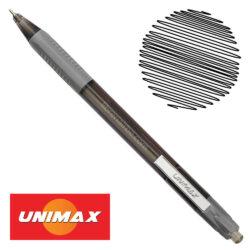 Bolígrafo Retráctil UNIMAX TRIO RT STEEL Negro