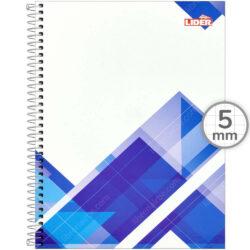 Cuaderno Anillado Carta LIDER Oficina con 100 Hojas Cuadriculadas 5 mm