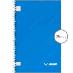 Cuaderno Anillado Oficio WINNER con 100 Hojas sin Cuadriculado (Portada Aleatoria)