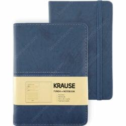Cuaderno con Hojas Punteadas KRAUSE + Funda Tamaño A6 Azul